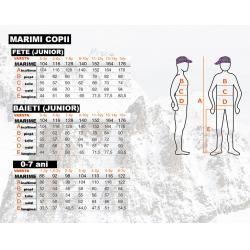 Salopeta ski copii Ice Peak Jael violet1
