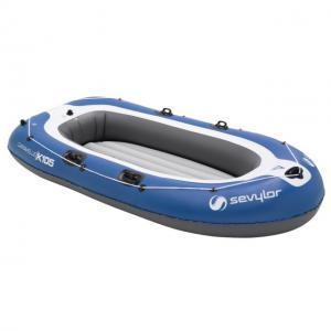 Set barca Carravelle gonflabila KK105 albastru/gri Sevylor