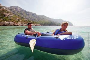 Set barca Carravelle gonflabila KK65 albastru/gri Sevylor3
