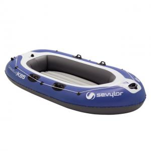 Set barca Carravelle gonflabila KK85 albastru/gri Sevylor