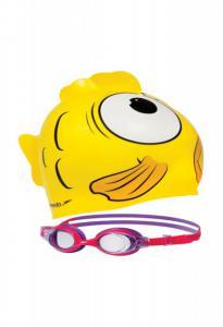 Set pt copii casca si ochelari  sea squad Speedo2