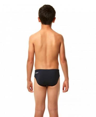 Slip inot Speedo pentru baieti Essential Endurance + 6.5 cm negru3