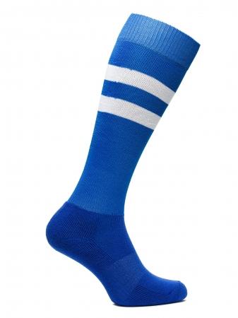Sosete fotbal unisex BRILLE albastre