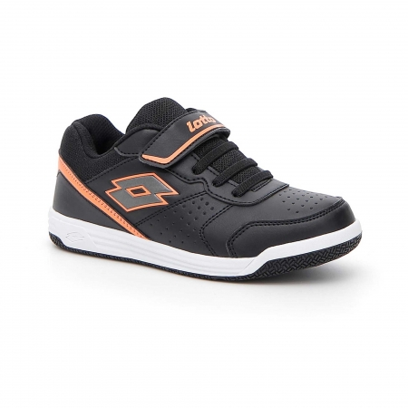 Pantofi sport copii Lotto SET ACE XII CL SL negru
