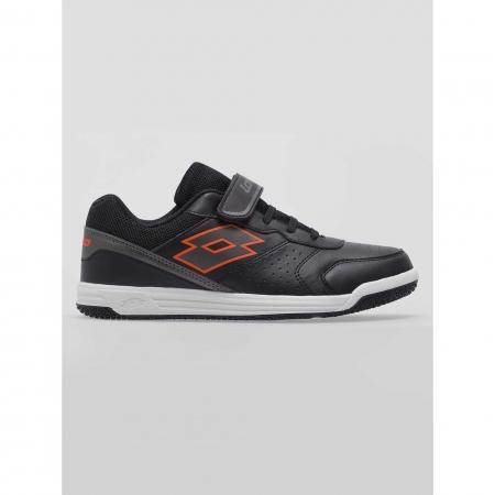 Pantofi sport copii Lotto SET ACE XII JR SL negru1