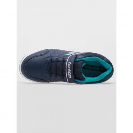 Pantofi sport copii Lotto SET ACE XII JR SL albastru3
