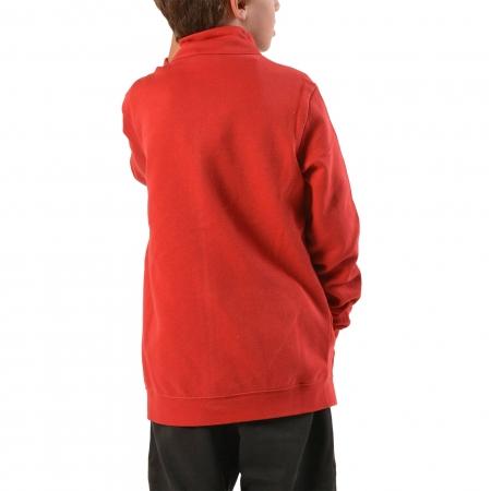 Trening copii Champion Full Zip Ultra Light Fall Fleece rosu/gri5