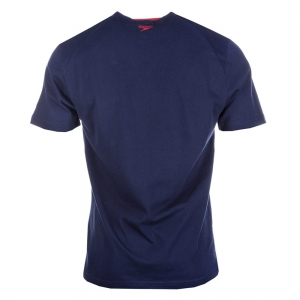Tricou copii Speedo Big Logo navy1