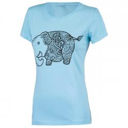 Tricou femei Brille Elephant bleu0