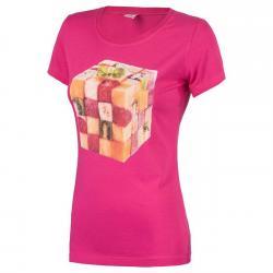 Tricou femei Brille Fruits roz0