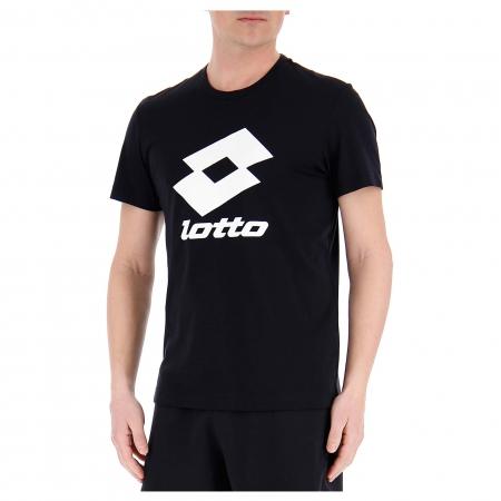 Tricou sport barbati Lotto SMART TEE JS negru0