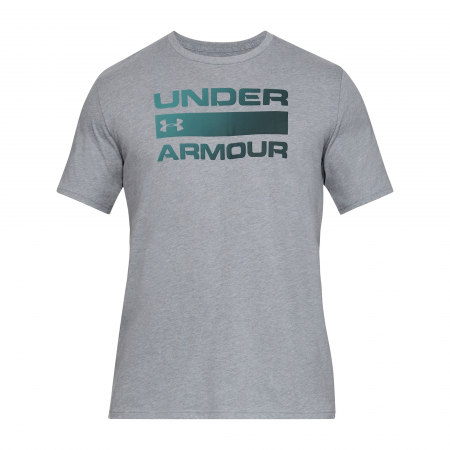 Tricou sport barbati Under Armour UA TEAM ISSUE WORDMARK SS gri