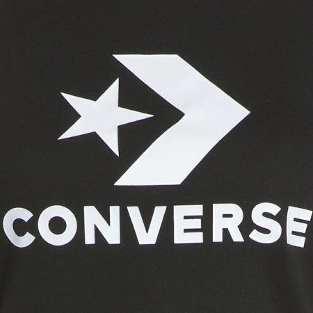 Tricou sport femei Converse STAR CHEVRON CORE SS TEE negru4