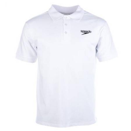 Tricou polo pentru barbati Speedo Meridere, alb0